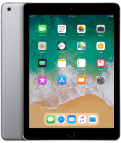 Apple iPad 9,7' (2018) - Space Grey, WiFi + Cellular, 32 GB