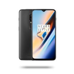 OnePlus 6T - Jet black, 6 GB, 128 GB